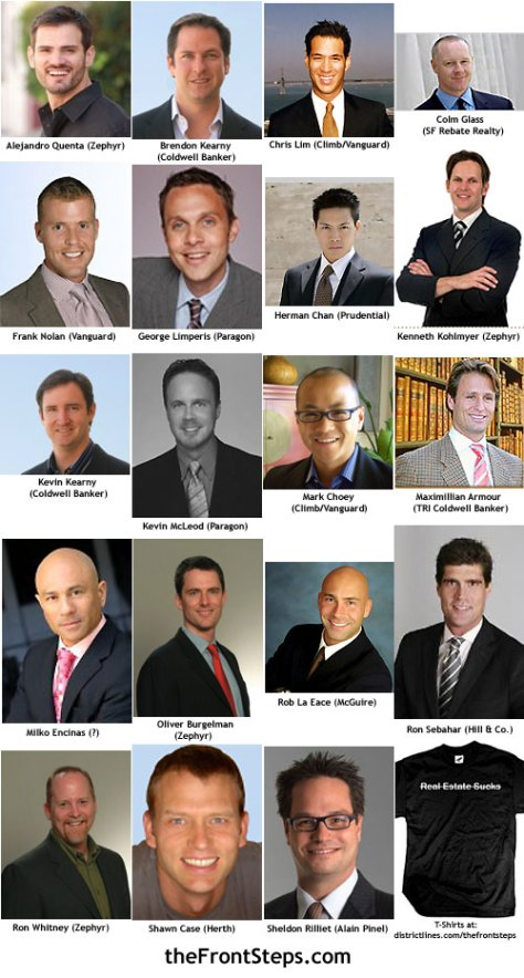San Francisco's Sexiest Realtor Men 2008
