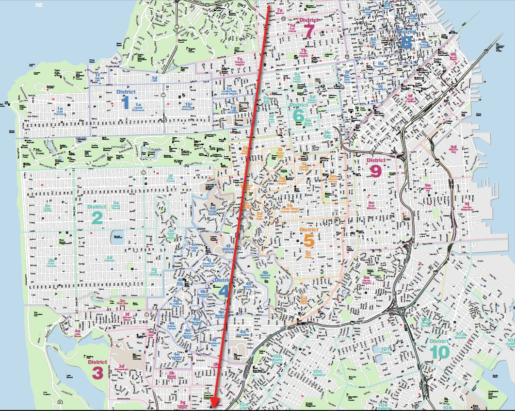 Factoring Weather When Buying A Home In San Francisco Is Anything - Map san francisco mission district