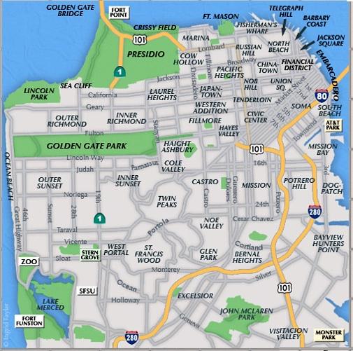 San Francisco Neighborhoods Prone To Liquefaction And Earthquake