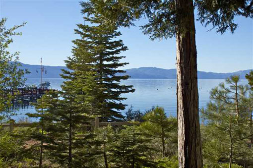 View from the Carnelian Bay Lakefront