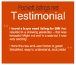 PocketListings.net Testimonial