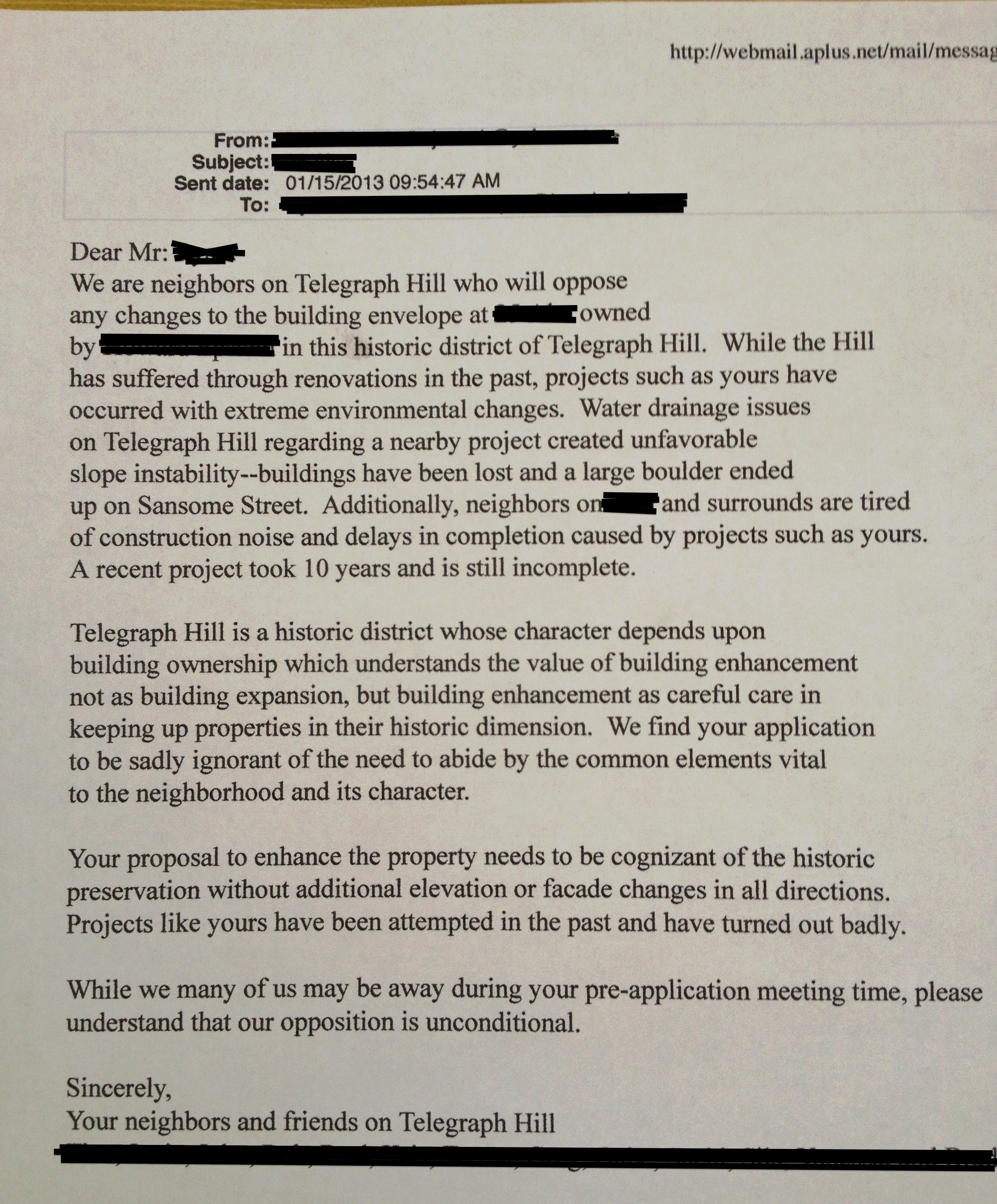 Letter to neighbors peopledavidjoel letter to neighbors spiritdancerdesigns Images