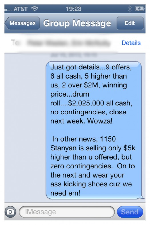 Seller Ecstasy Buyer Agony