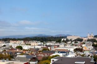 Panoramic Views to Headlands, Golden Gate Bridge