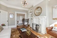 62 Buena Vista Terrace: Living Room Looking into bedroom