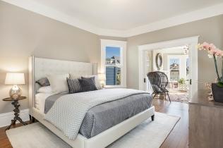 62 Buena Vista Terrace: Bedroom looking into living room