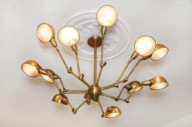 1471 McAllister Designer Light Fixture in second bedroom