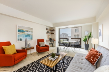 1177 California #304, Gramercy Towers Living Area