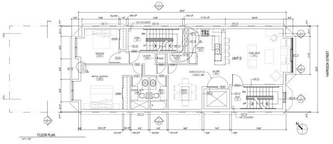 960 Harrison Floorplan