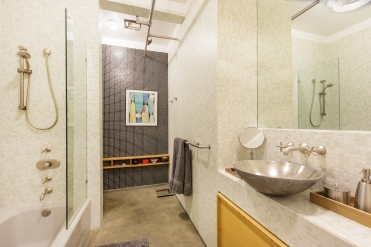 Box Factory Loft Designer Bathroom