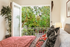 "1957 11th Ave Rear Bedroom w/ ""Romeo & Juliet"" balcony"