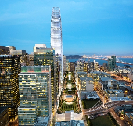 Transbay Transit Center rendering