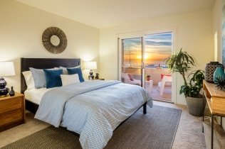 875 La Playa #179 | Outer Richmond | Second Bedroom w/ Ocean Views