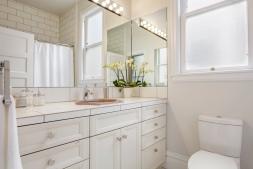 1651 Page Hallway Bathroom