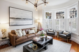 1649 Page St. Formal Living Room