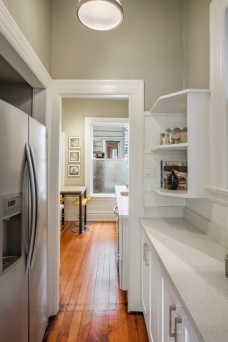 1649 Page St. Kitchen Pantry / Pass Through