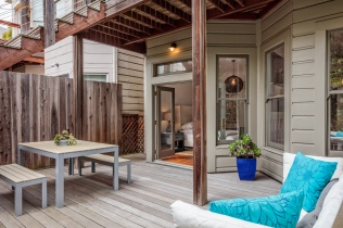 1649 Page St. Private Patio