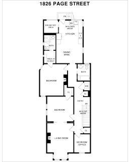 1826 Page St | Floorplan